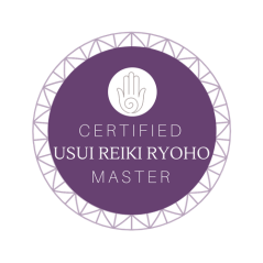 Usui Master Reiki Badge