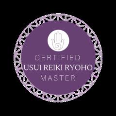 Usui Master Reiki Badge